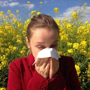 Allergies with Tissue