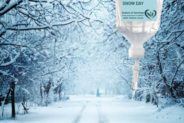 Snow Day - snowy road